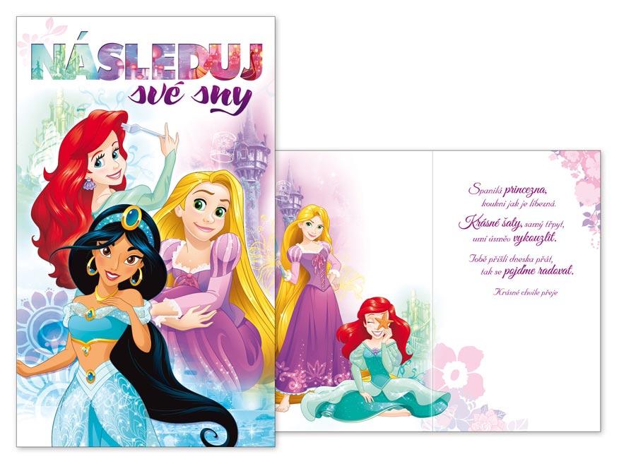 Přání dětské M33-088 H Disney (Princess)