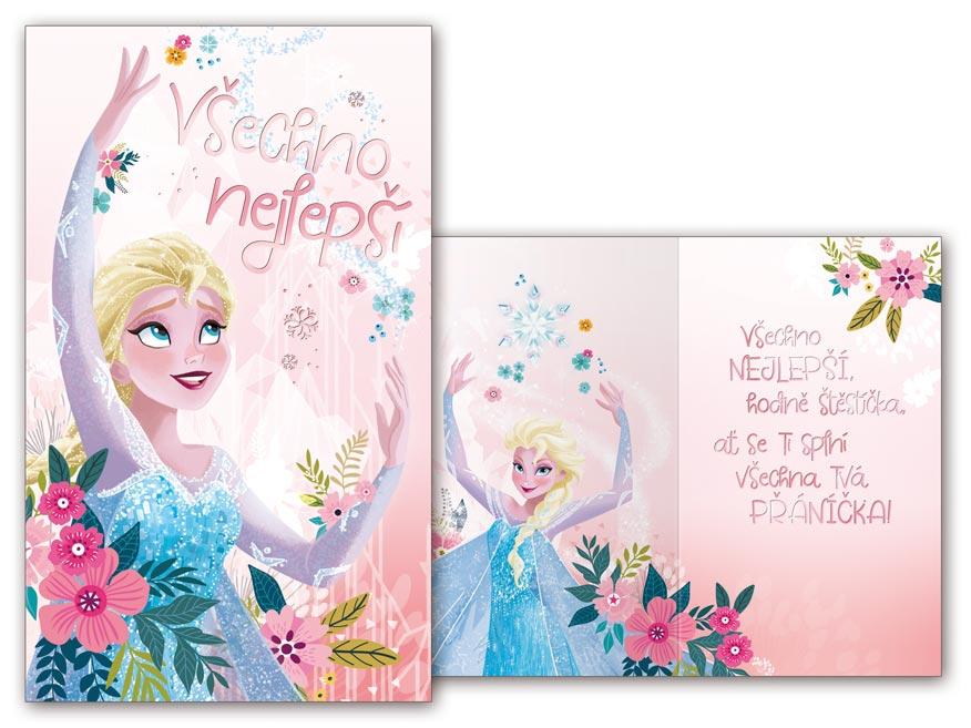 Přání dětské M33-090 H Disney (Frozen)