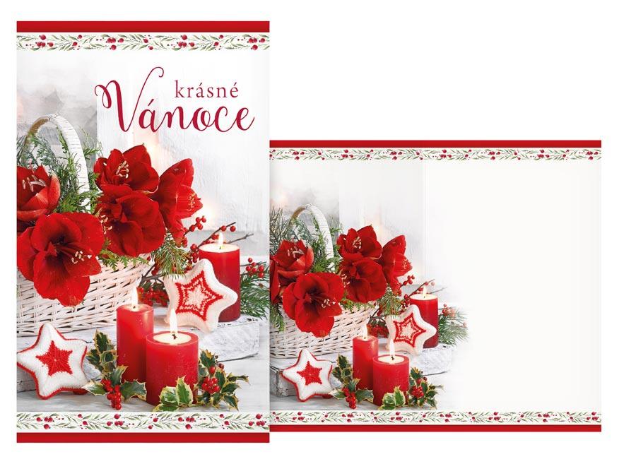Přání Vánoční V24-415 H