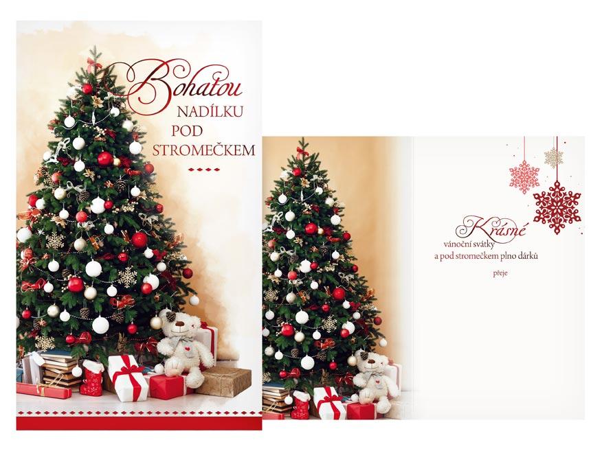 Přání Vánoční V24-419 H