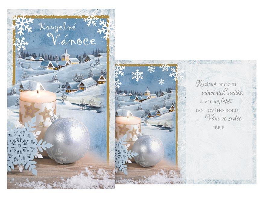 Přání Vánoční V24-423 H