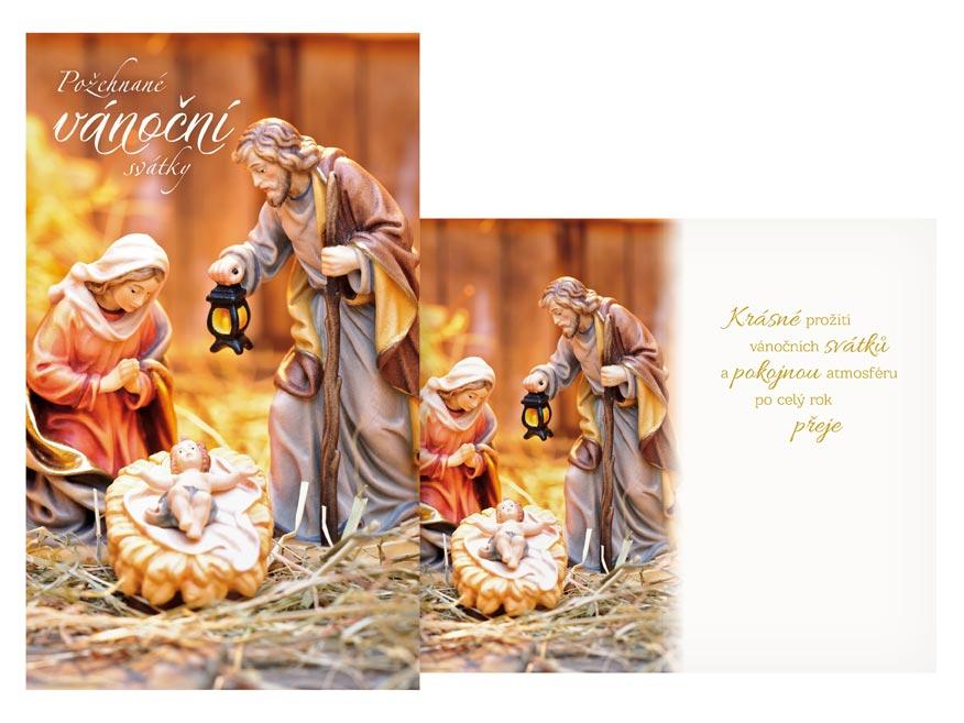 Přání Vánoční V24-424 H
