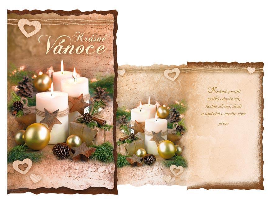 Přání Vánoční V24-426 H