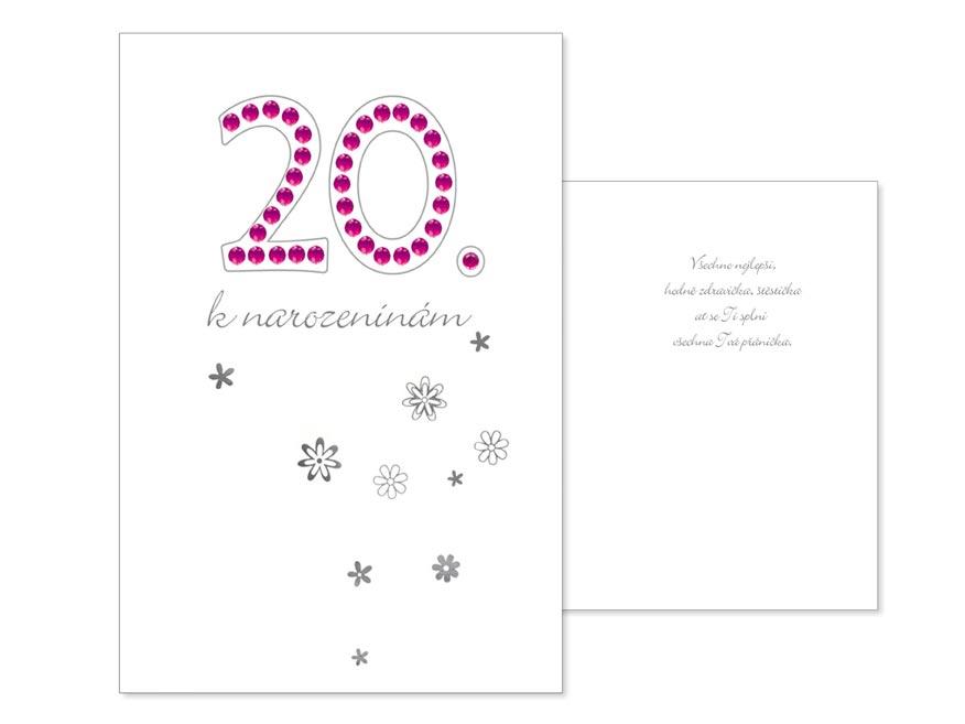 MFP přání k narozeninám 20 CN-109-APA160641