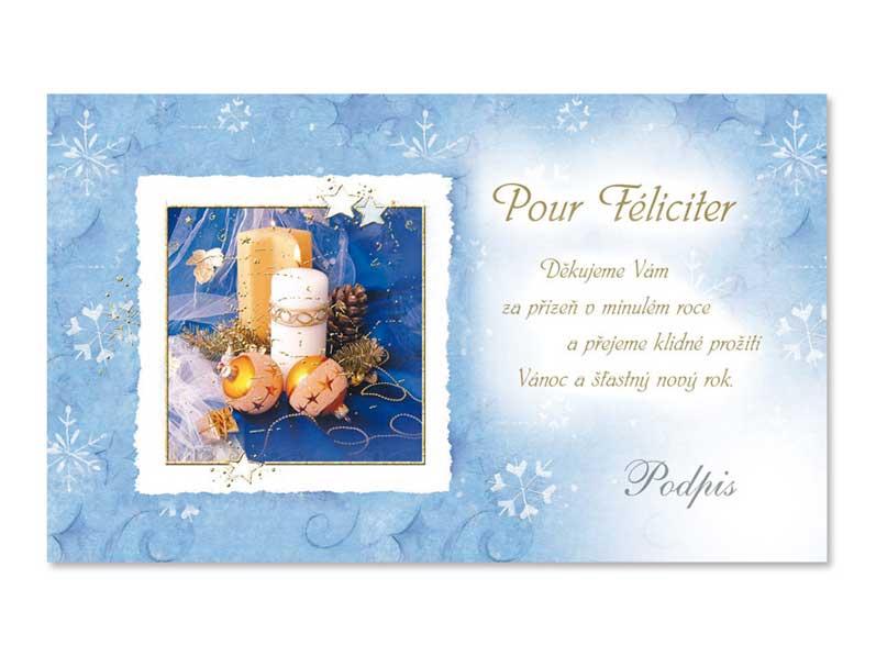 Přání novoroční, PF V24-187 K