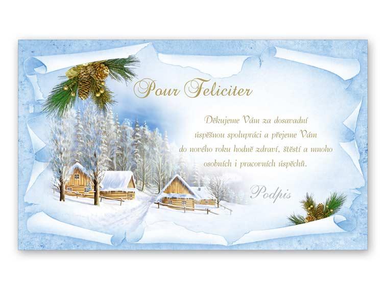 Přání novoroční, PF V24-205 K