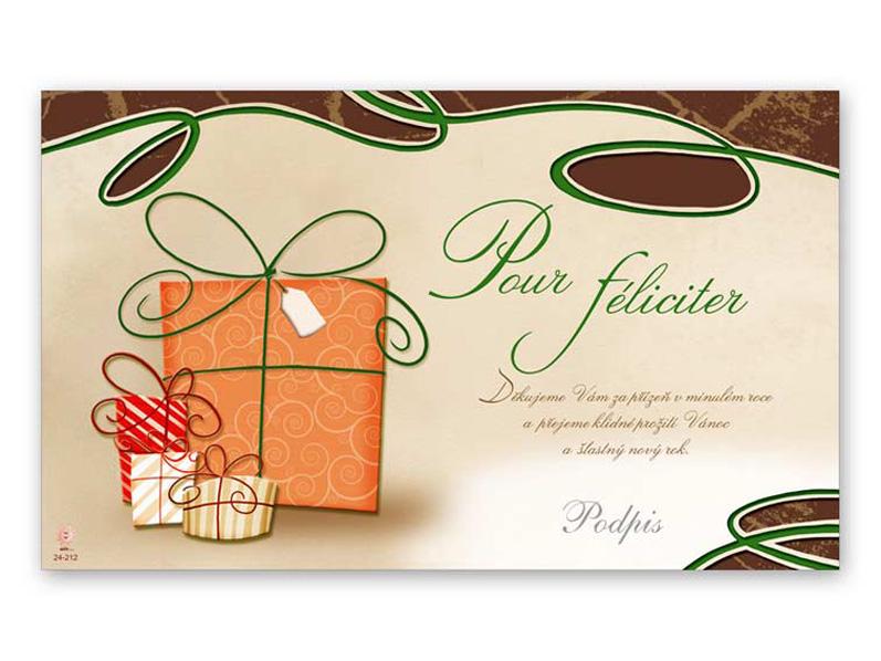 Přání novoroční, PF V24-212 K