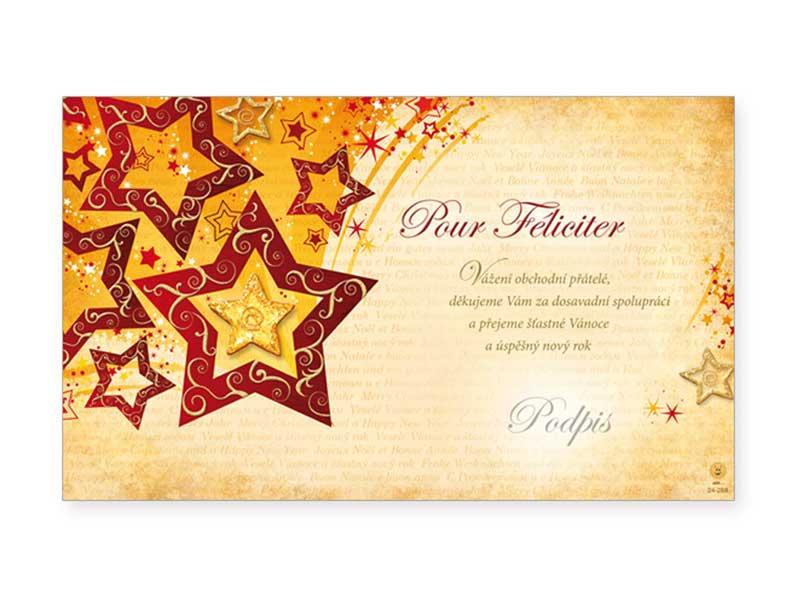 Přání novoroční, PF V24-289 K