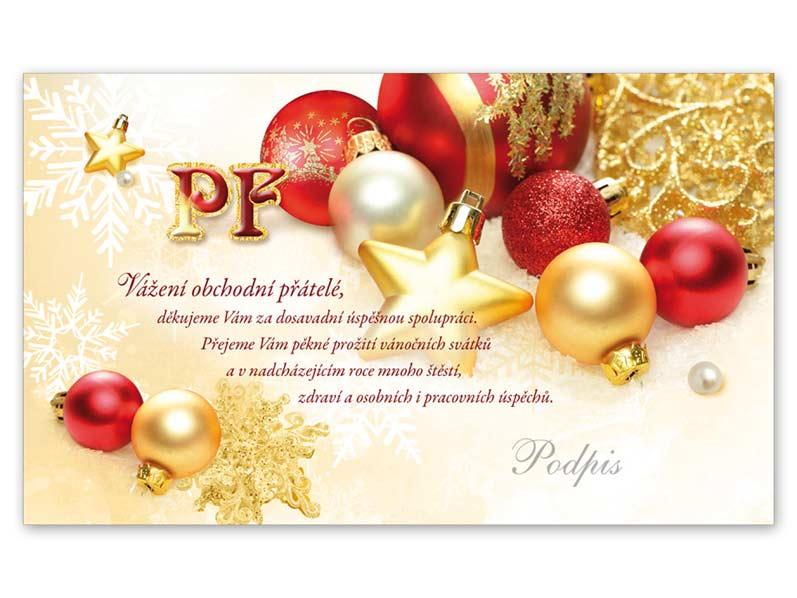 Přání novoroční, PF V24-294 K