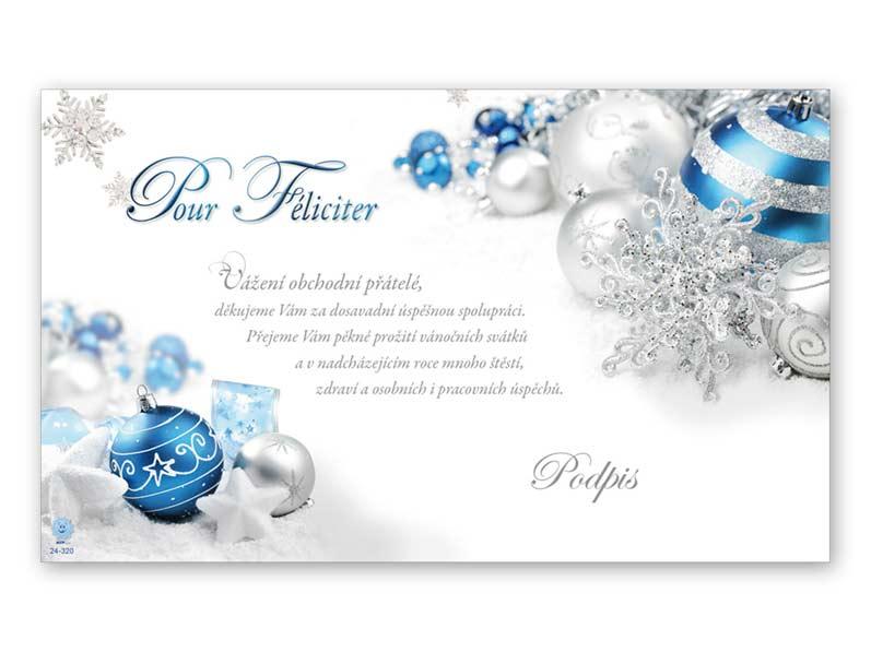 Přání novoroční, PF V24-320 K
