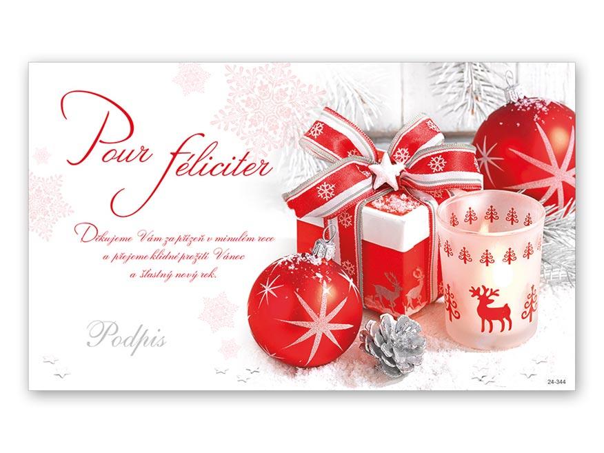 Přání novoroční, PF V24-344 K
