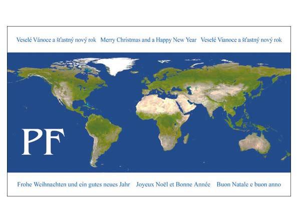 Přání novoroční, PF V24-065 O