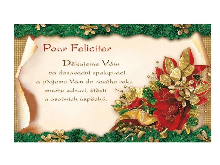 Přání novoroční, PF V24-099 O