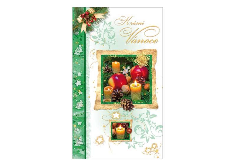 Přání Vánoční V24-261 O