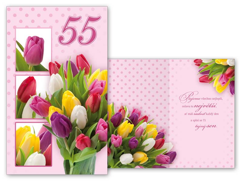 přání k 55 narozeninám texty Přání k narozeninám 55 M11 375 T | MFP paper s.r.o. přání k 55 narozeninám texty