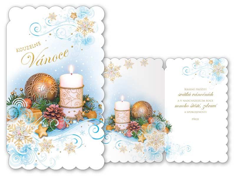 Přání Vánoční V24-308 T