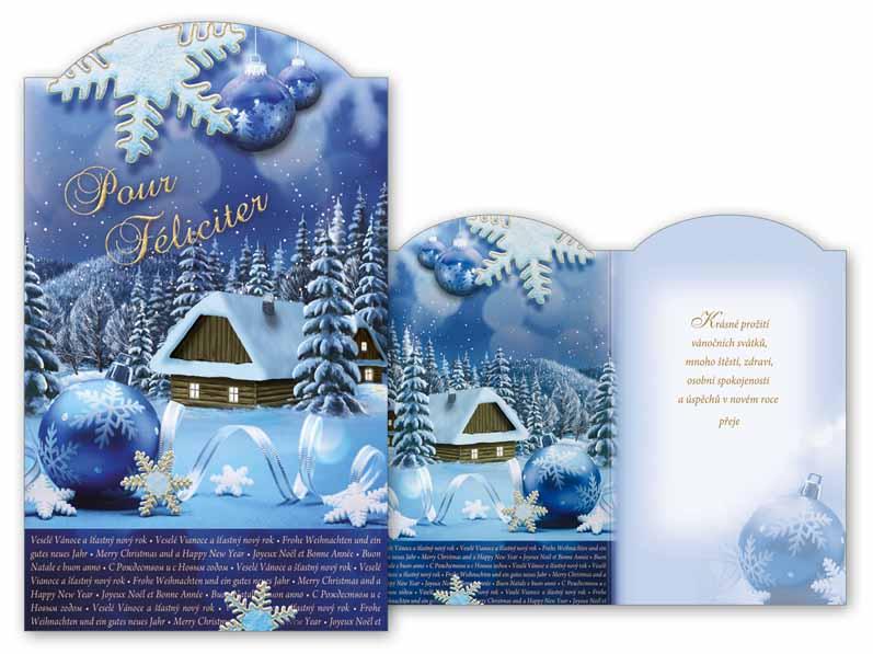 Přání novoroční, PF V24-317 T