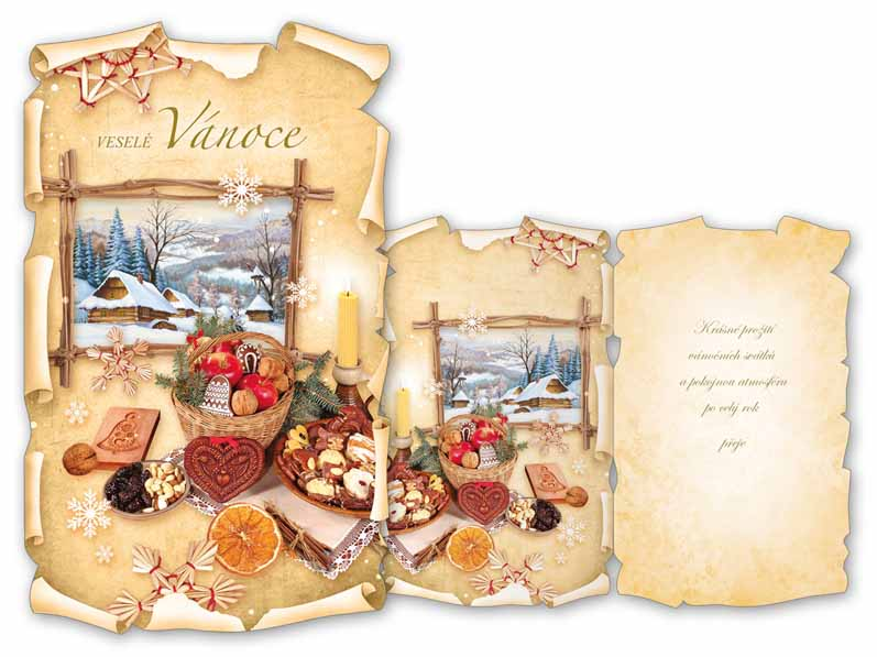 Přání Vánoční V24-329 T