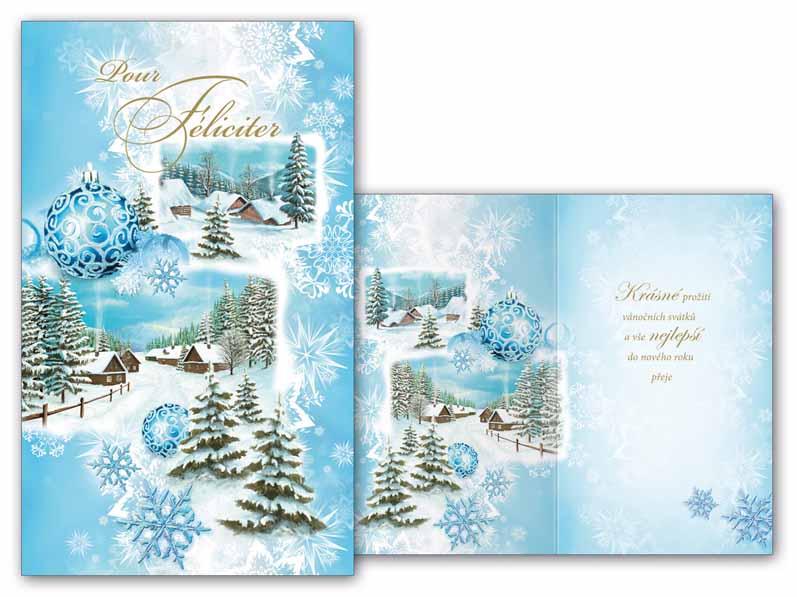 Přání novoroční, PF V24-338 T