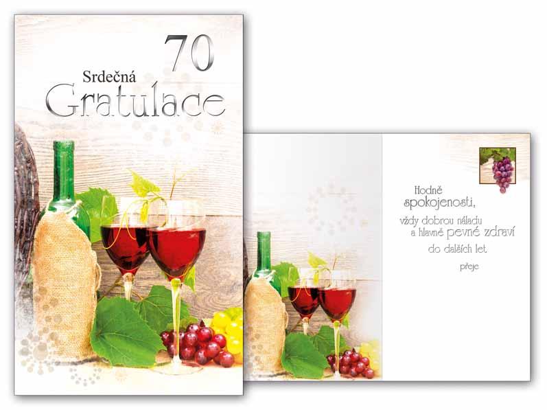 přání k narozeninám texty 70 let Přání k narozeninám 70 M11 416 T | MFP paper s.r.o. přání k narozeninám texty 70 let