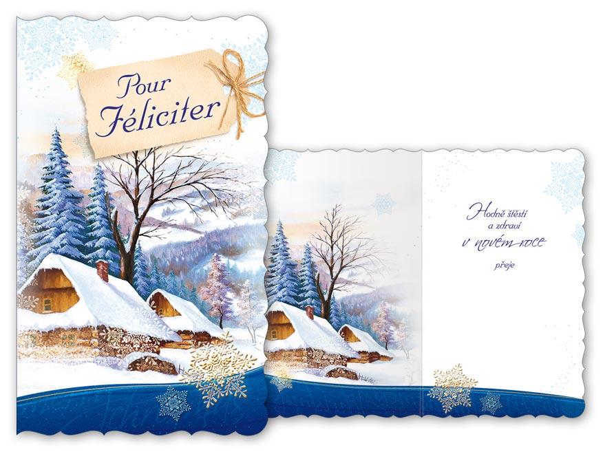 Přání novoroční, PF V24-348 T