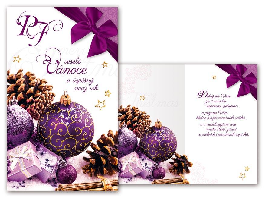 Přání novoroční, PF V24-349 T