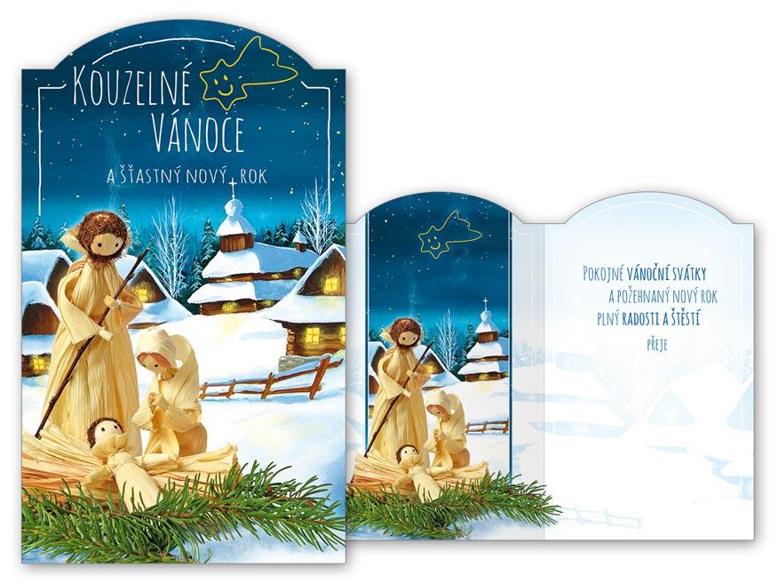 Přání Vánoční V24-358 T