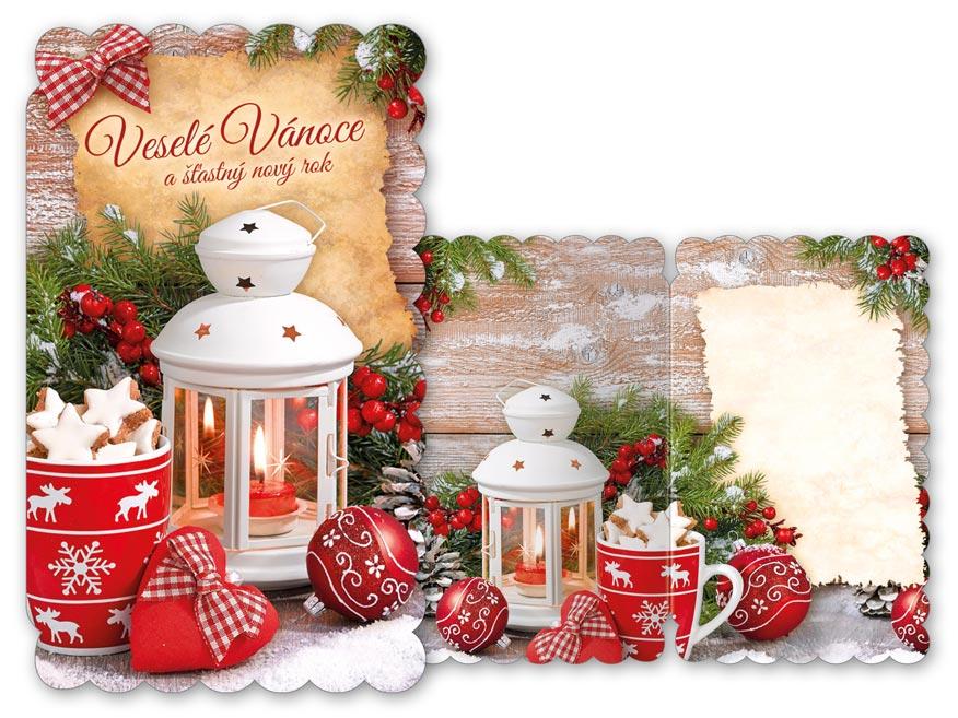 Přání Vánoční V24-362 T