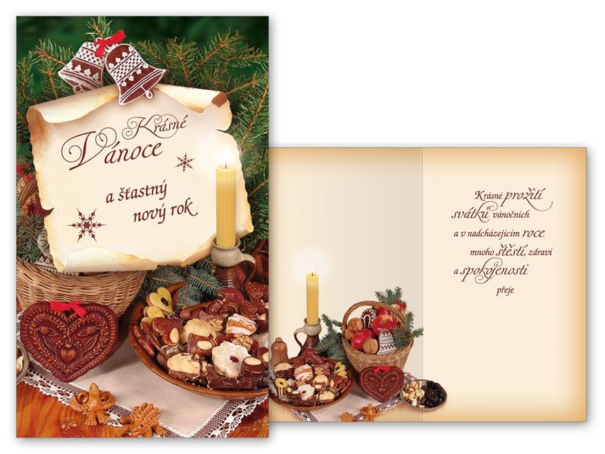 Přání Vánoční V24-363 T