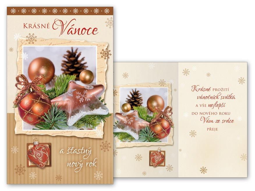 Přání Vánoční V24-366 T