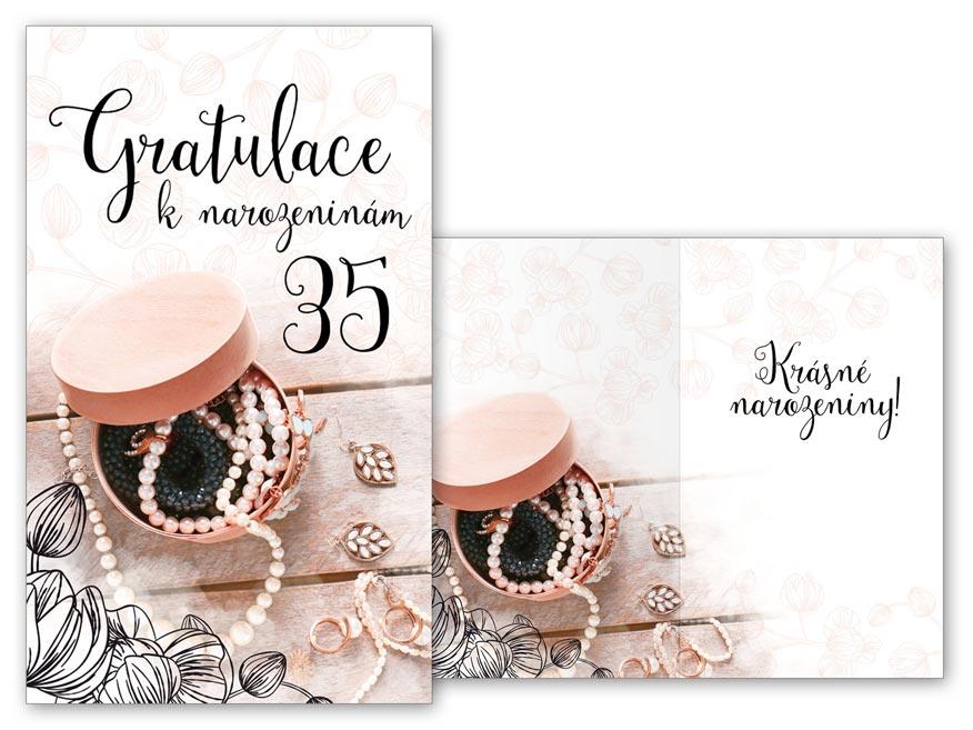 Přání k narozeninám 35 M11-493 T