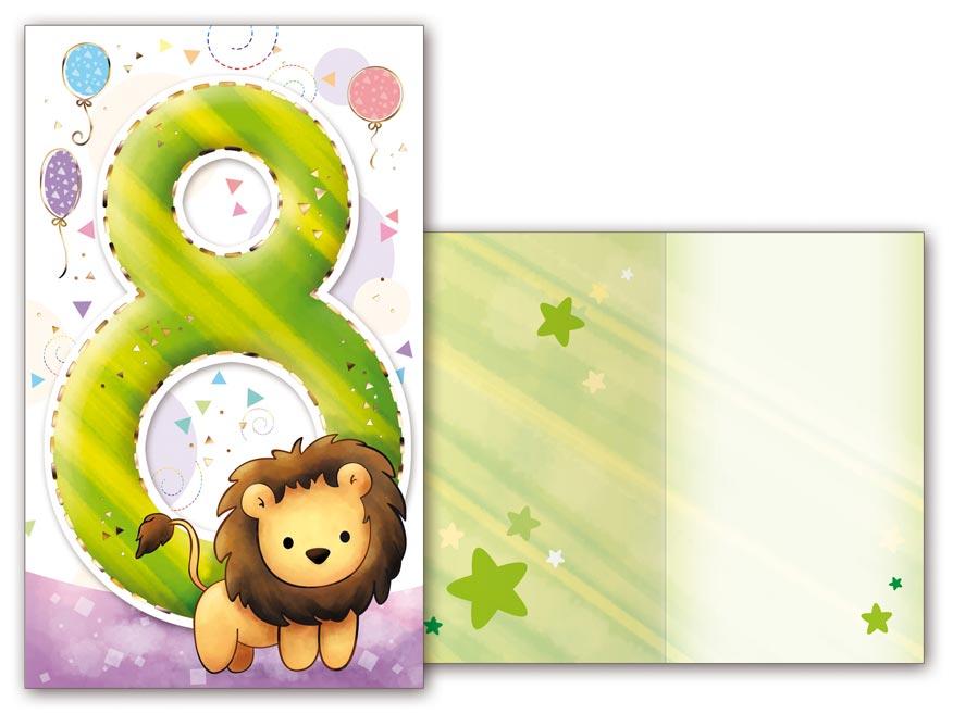 Přání k narozeninám 08 M33-098 T