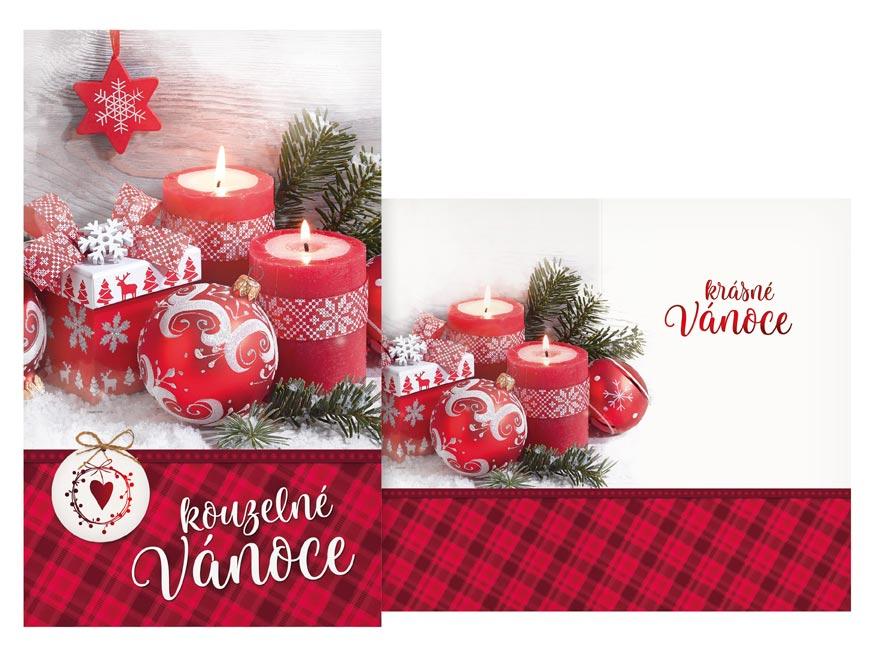 Přání Vánoční V24-416 T
