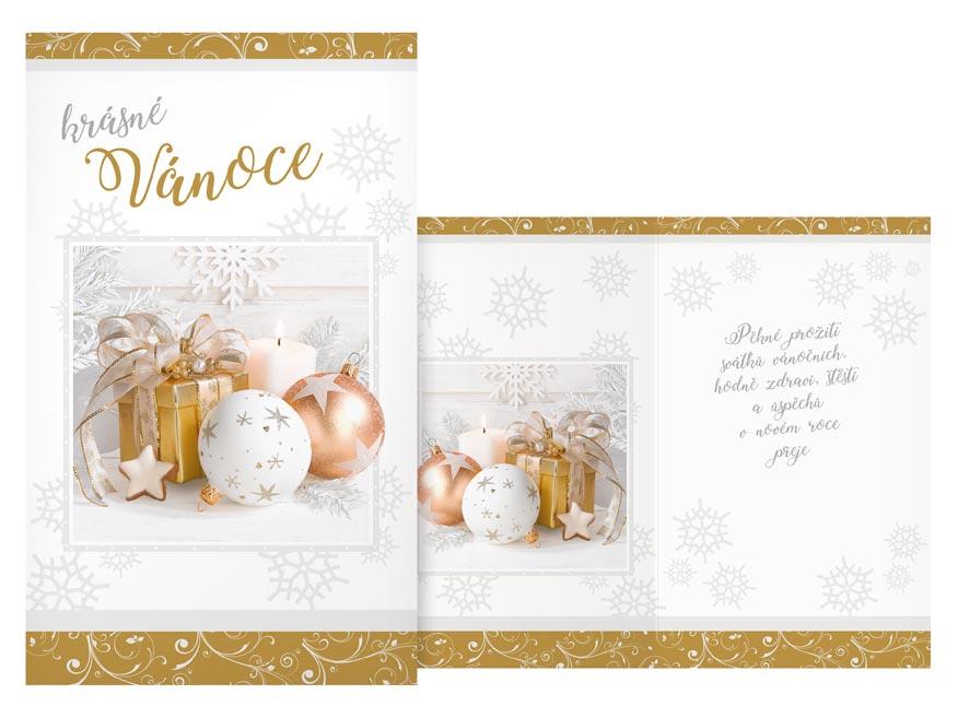 Přání Vánoční V24-422 T