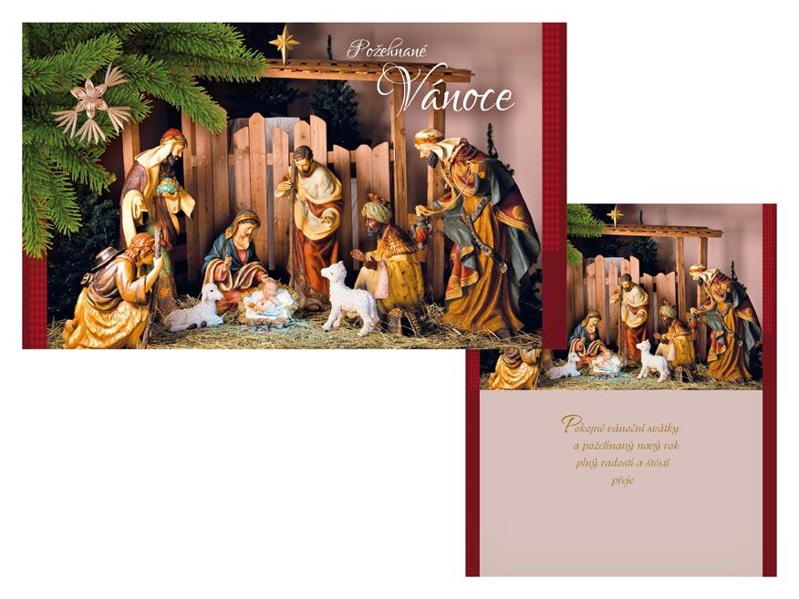 Přání Vánoční V24-425 T