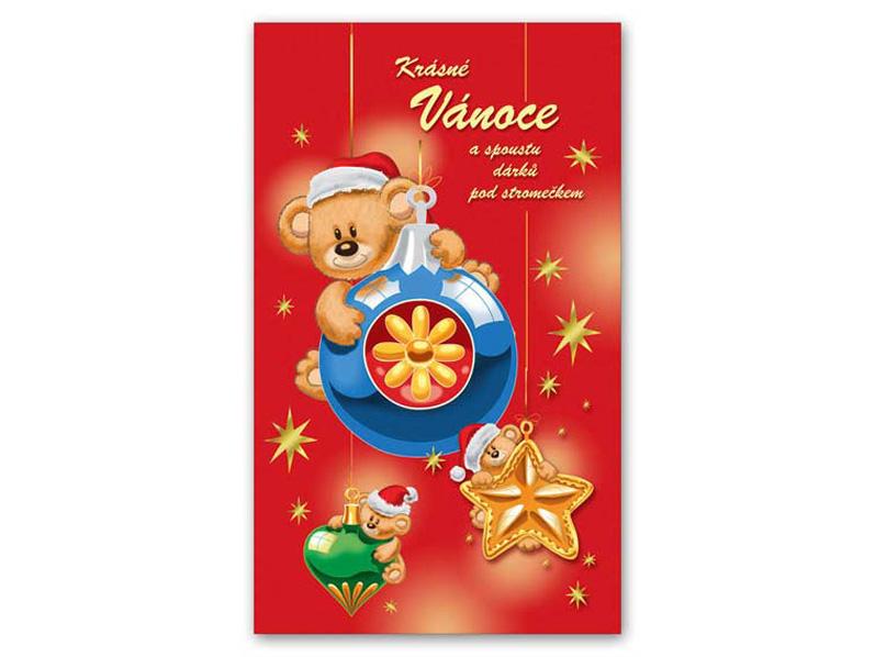 Přání Vánoční V24-233 T