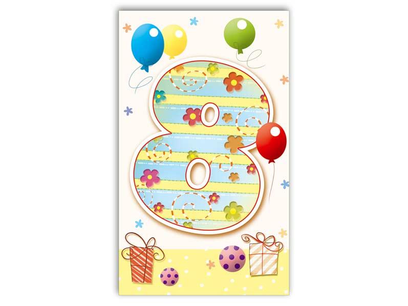 Přání k narozeninám 08 M33-023 T