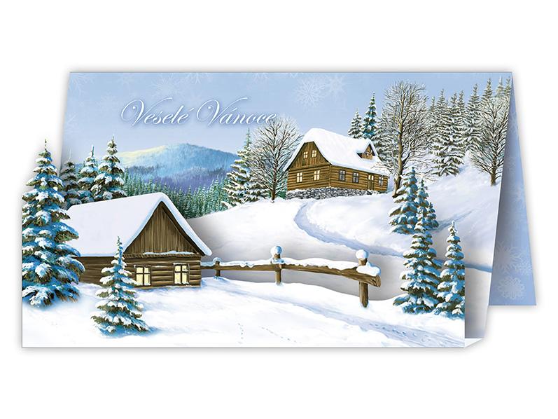 Přání Vánoční V24-321 W