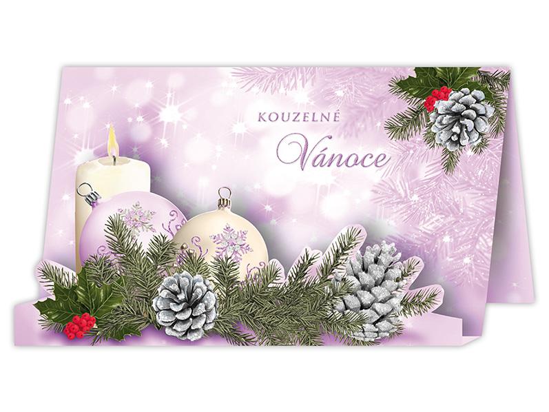 Přání Vánoční V24-322 W
