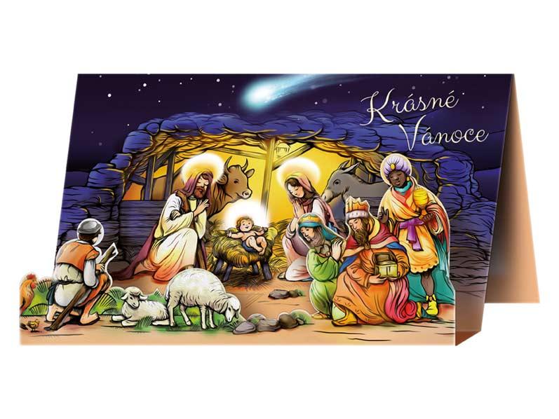 Přání Vánoční V24-324 W
