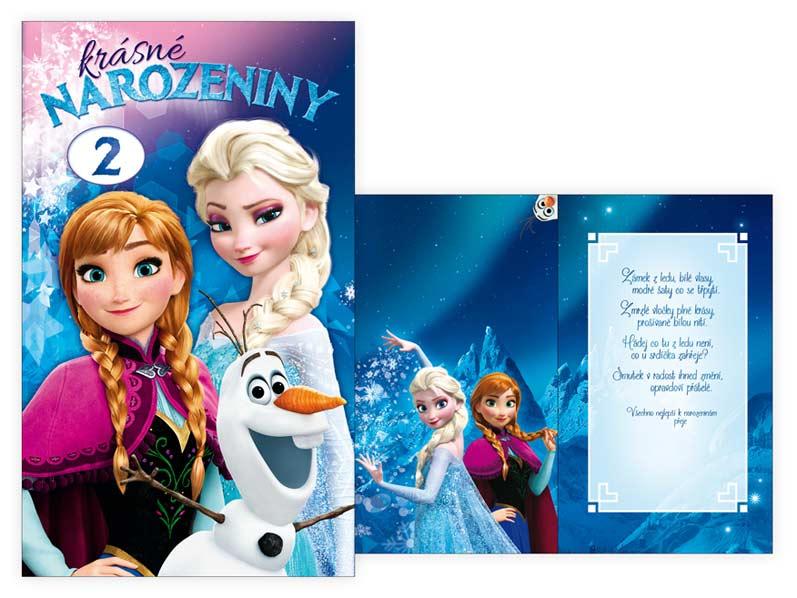 dětské přání k narozeninám obrázky Přání k narozeninám otočné, dětské M33 081 W Disney (Frozen) | MFP  dětské přání k narozeninám obrázky
