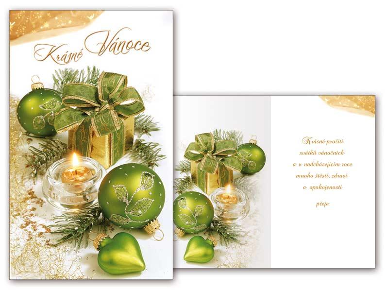 Přání Vánoční malé V23-087 Z