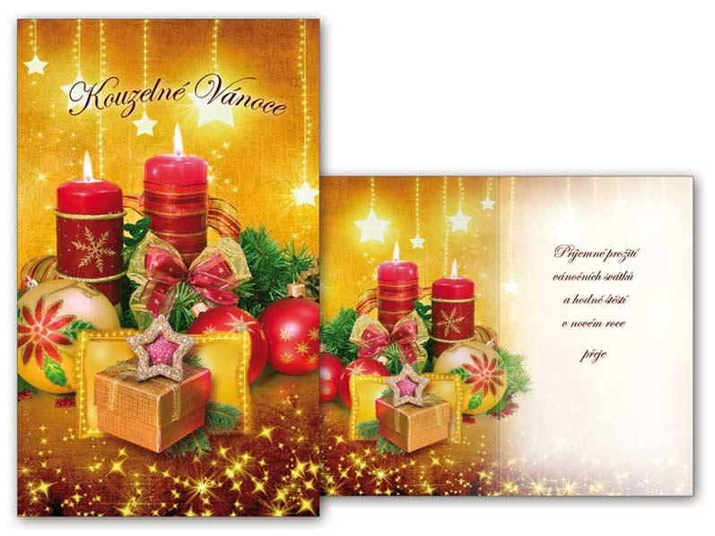 Přání Vánoční malé V23-088 Z