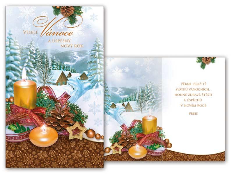 Přání Vánoční malé V23-089 Z