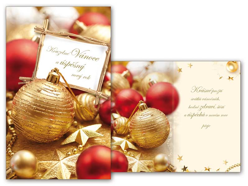 Přání Vánoční malé V23-091 Z
