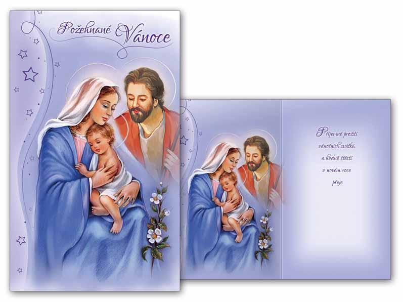 Přání Vánoční malé V23-094 Z
