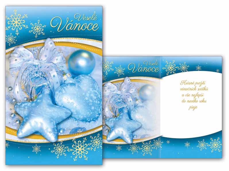 Přání Vánoční malé V23-096 Z