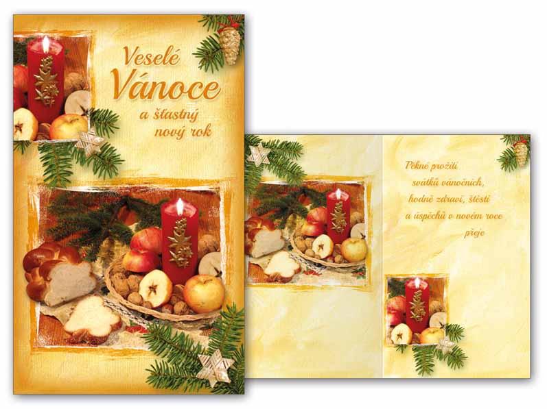 Přání Vánoční malé V23-097 Z