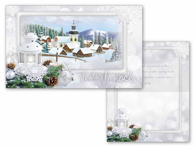 Přání Vánoční malé V23-098 Z