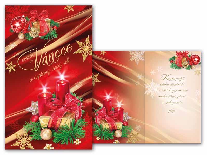 Přání Vánoční malé V23-102 Z